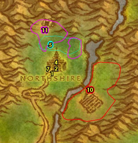 1-13 Humans (Alliance) - Elwynn Forest
