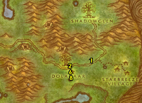 1-12 Night Elves (Alliance) - Teldrassil - Joana's Classic WoW