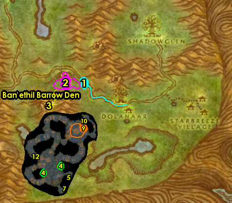 1-12 Night Elves (Alliance) - Teldrassil