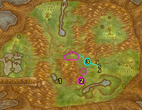1-12 Night Elves (Alliance) - Teldrassil