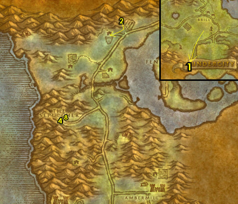 1-15 Undead (Horde) - Tirisfal Glades & Silverpine Forest