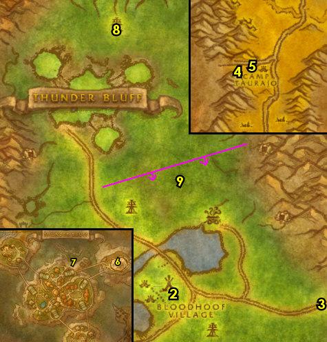 1-12 Tauren (Horde) - Mulgore - Joana's Classic WoW Leveling Guide